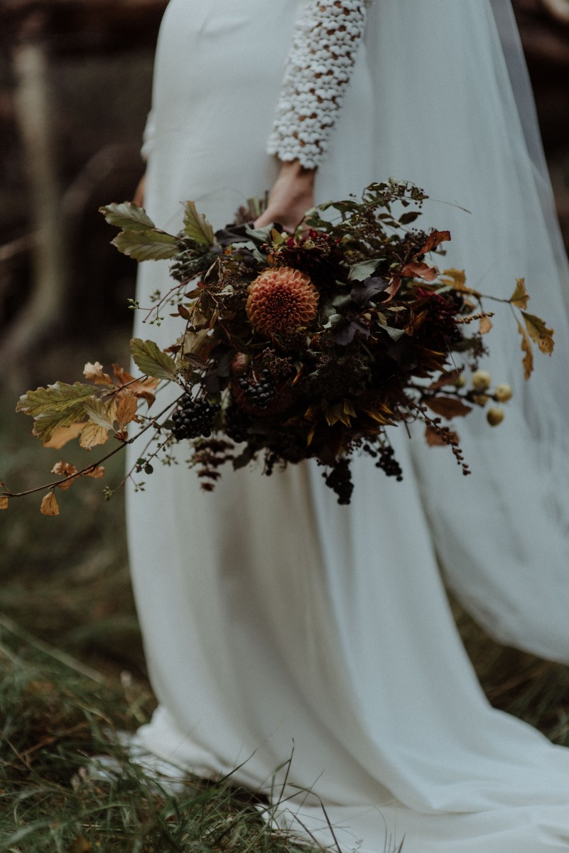 Lizzie | The Dell of Abernethy | Autumn